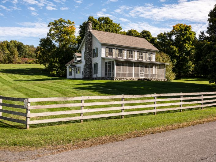 Craryville NY Farmhouse Real Estate Photography | Upstate NY Residential Home Exterior Photography | Exteriors | New York Architectural Photographer Dave Butterworth | Real Estate | Albany NY | Saratoga Springs | Hudson Valley | Catskills | EyeWasHere | Eye Was Here Photography