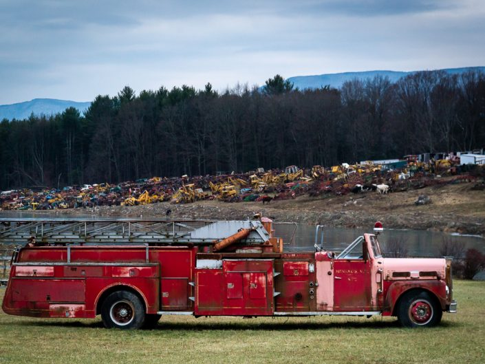 Firetruck | Upstate NY Photography | New York Landscapes and Scenes | Albany NY Photographer Dave Butterworth | EyeWasHere Photography | Eye Was Here