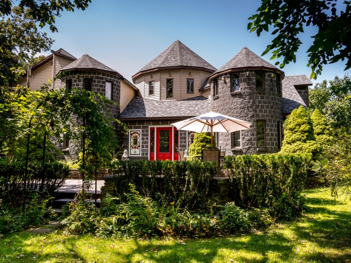 Ghent NY Castle | Upstate NY Residential Home Exterior Photography | Exteriors | New York Architectural Photographer Dave Butterworth | Real Estate | Albany NY | Saratoga Springs | Hudson Valley | Catskills | EyeWasHere | Eye Was Here Photography
