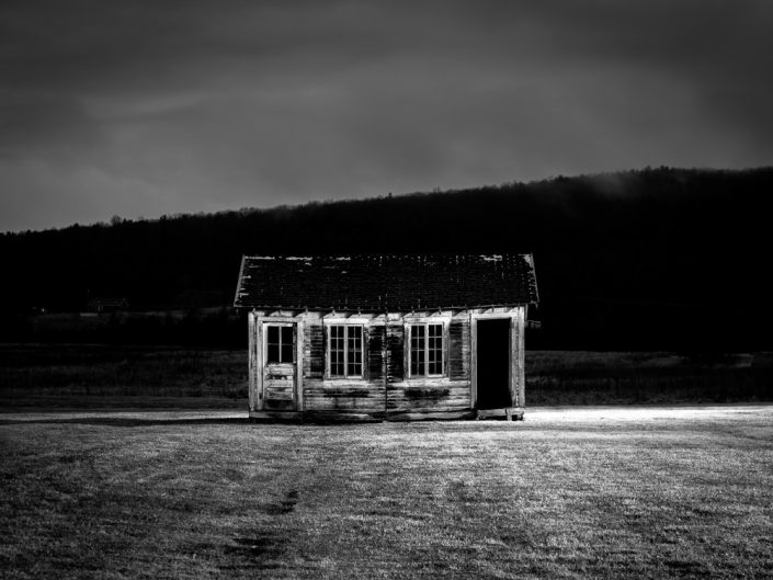 Haunted | Landscape Black & White Photograph by Dave Butterworth | EyeWasHere Paint it Black