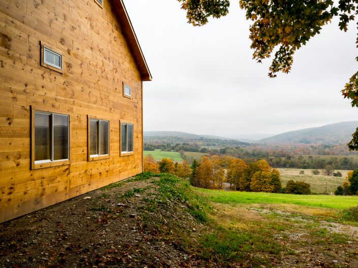 Hillsdale NY Cabin | Upstate NY Residential Home Exterior Photography | Exteriors | New York Architectural Photographer Dave Butterworth | Real Estate | Albany NY | Saratoga Springs | Hudson Valley | Catskills | EyeWasHere