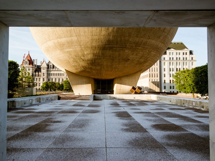 Upstate NY Architectural Photography | Albany NY State Plaza | The Egg | New York Real Estate Photographer Dave Butterworth | EyeWasHere