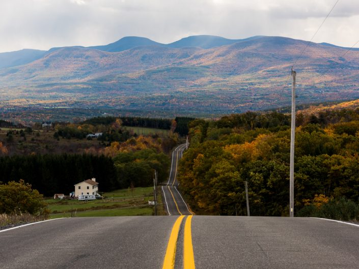 Rensselaerville NY Mountains | New York Highway Autumn Landscape Photography by Dave Butterworth | EyeWasHere Playing With A Camera, Upstate NY Landscape Photography