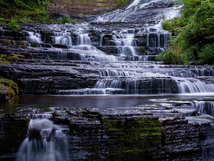 Rensselaerville Waterfall | Upstate NY Waterfall Landscape Photo by Dave Butterworth | EyeWasHere Playing With A Camera, Upstate NY Landscape Photography