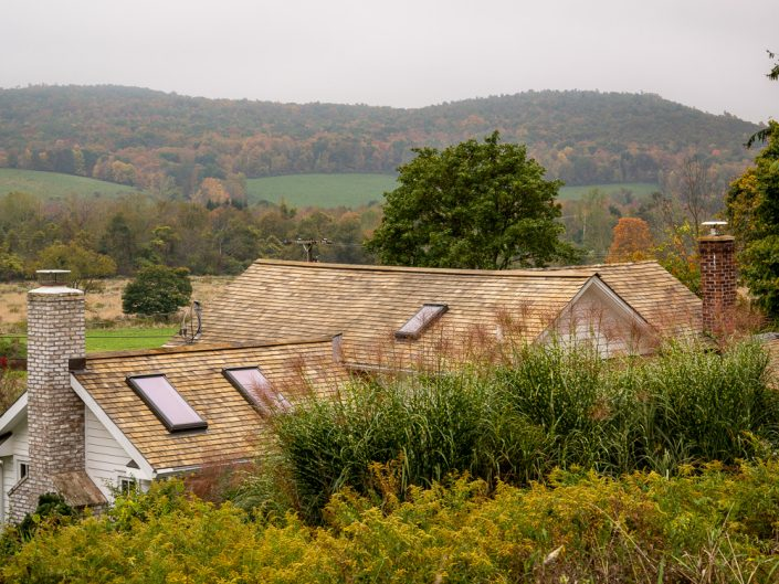 Rooftop | Hillsdale NY Farm House Rooftop Fall Landscape Photo by Dave Butterworth | EyeWasHere Playing With A Camera, Upstate NY Landscape Photography