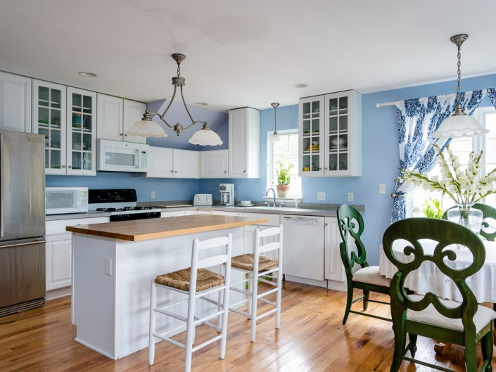Saratoga Springs Airbnb Rental Kitchen | Upstate NY Residential Home Interior Photography | Interiors | New York Architectural Photographer Dave Butterworth | Real Estate | Albany NY | Saratoga Springs | Hudson Valley | Catskills | EyeWasHere
