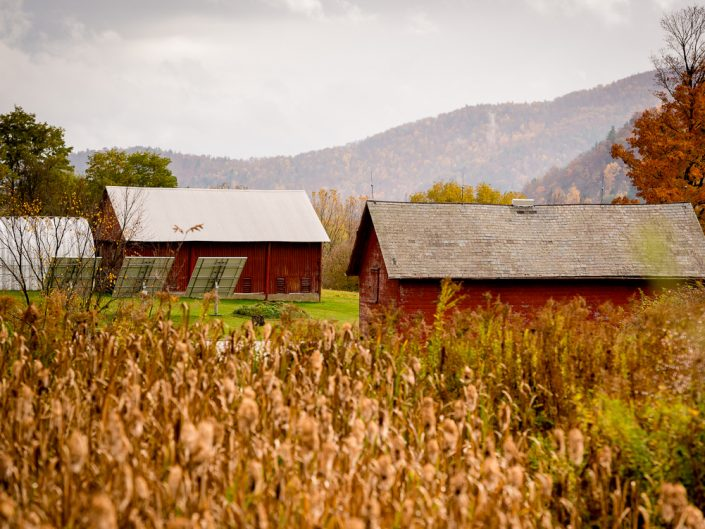 Solar Power Barn | Hoosick Falls NY Solar Powered Barn Landscape Photo by Dave Butterworth | EyeWasHere Playing With A Camera, Upstate NY Landscape Photography