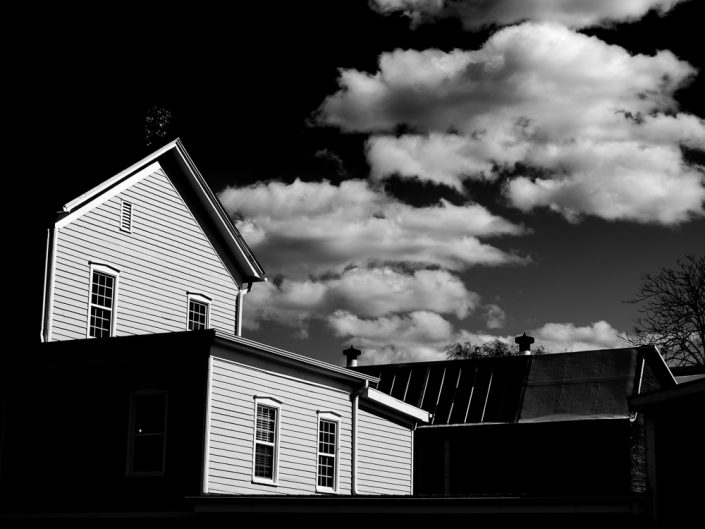 The Neighborhood | Catskill Black and White Photography by Dave Butterworth | EyeWasHere Paint it Black