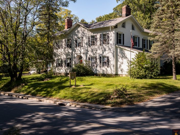 Troy NY White House Exterior | Upstate NY Residential Home Exterior Photography | Exteriors | New York Architectural Photographer Dave Butterworth | Real Estate | Albany NY | Saratoga Springs | Hudson Valley | Catskills | EyeWasHere