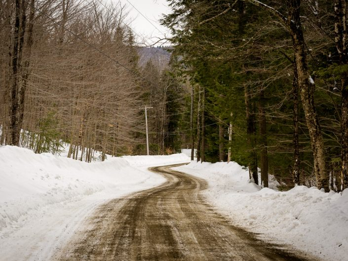 Vermont Back Road | Vermont Winter Landscape Photography by Dave Butterworth | EyeWasHere Playing With A Camera, Upstate NY Landscape Photography