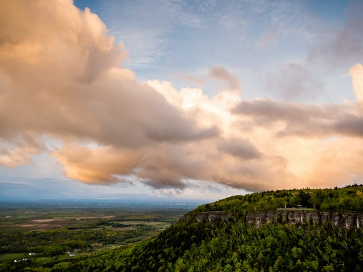 Thacher Park Sunset | Thacher Park Sunset Landscape Photography by Dave Butterworth | EyeWasHere Playing With A Camera, Upstate NY Landscape Photography