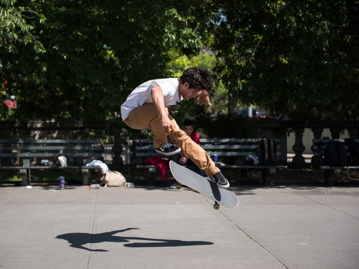 Brooklyn NY Game of Skate & Best Trick | NY Skateboarding Photography