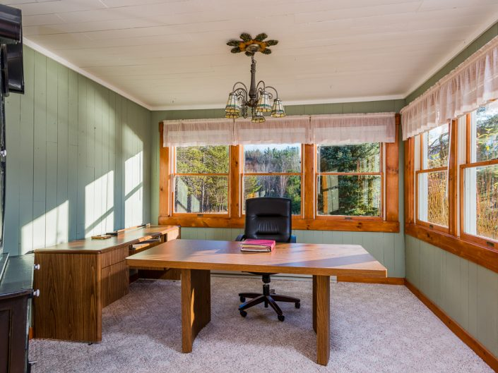 Durham NY Home Office | Upstate NY Residential Home Interior Photography | Interiors | New York Architectural Photographer Dave Butterworth | Real Estate | Albany NY | Saratoga Springs | Hudson Valley | Catskills | EyeWasHere
