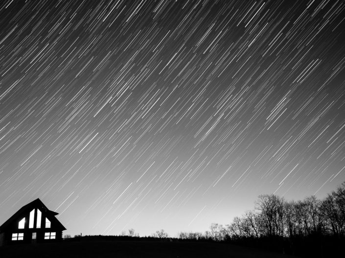 Lights On | Upstate New York Star Trails Photography | Night Photography | Albany NY | Hudson Valley | Architectural Photography | Landscape | New York Photographer Dave Butterworth | EyeWasHere