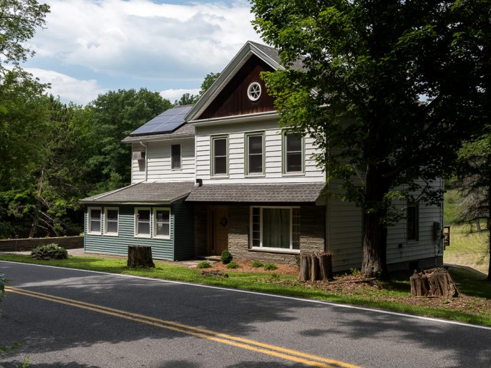 Cairo NY Bed & Breakfast | Upstate NY Residential Home Exterior Photography | Exteriors | New York Architectural Photographer Dave Butterworth | EyeWasHere | Eye Was Here Photography