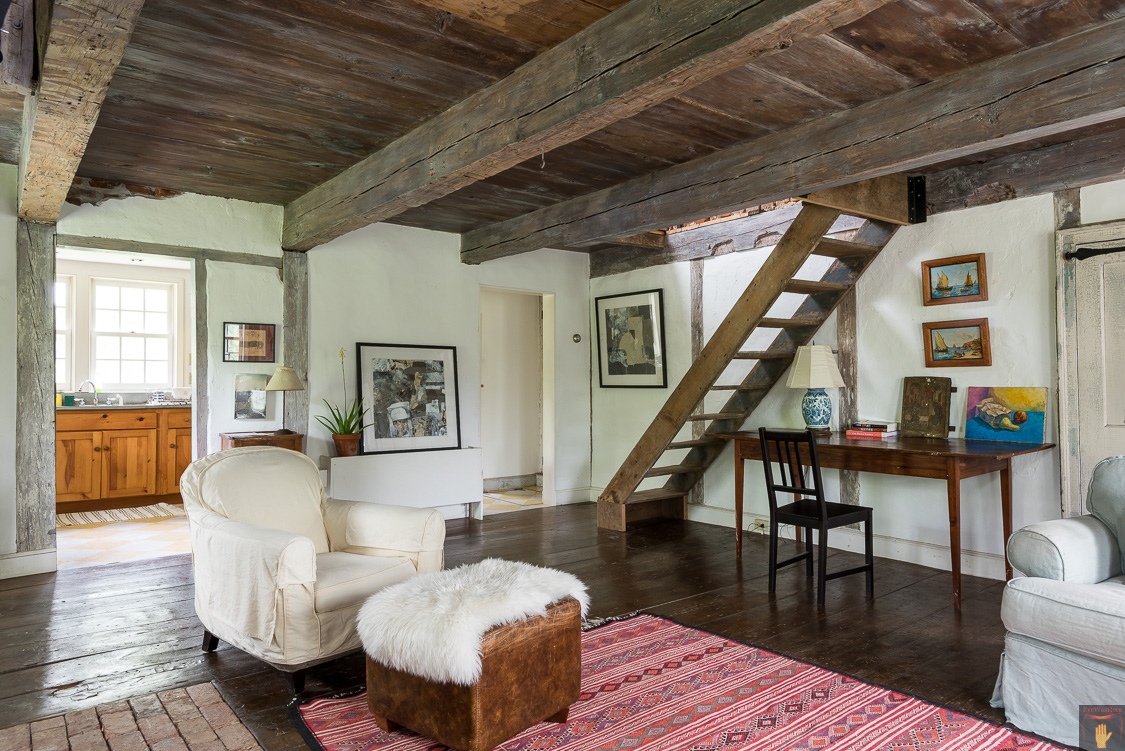 Old Dutch Cottage | Hudson NY Interior Photography | Catskills Real Estate Photographer | Hudson Valley | Architectural Photography | Farmhouse | EyeWasHere