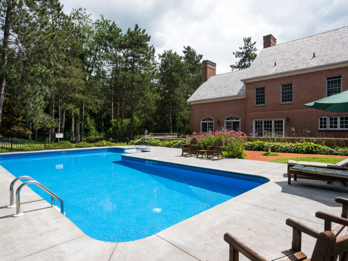 Chatham NY Bed & Breakfast Pool Exterior | Patio | Hotel Exterior Photography | Bed & Breakfast | BNB | Real Estate | Architecture | Interior Design | Albany NY Photographer Dave Butterworth | EyeWasHere | Eye Was Here Photography