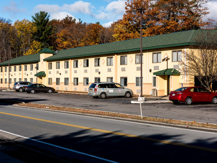 Latham NY Days Inn | Hotel Exterior Photography | Bed & Breakfast | BNB | Real Estate | Architecture | Interior Design | Albany NY Photographer Dave Butterworth | EyeWasHere | Eye Was Here Photography